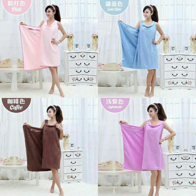 Bath Towel Dress