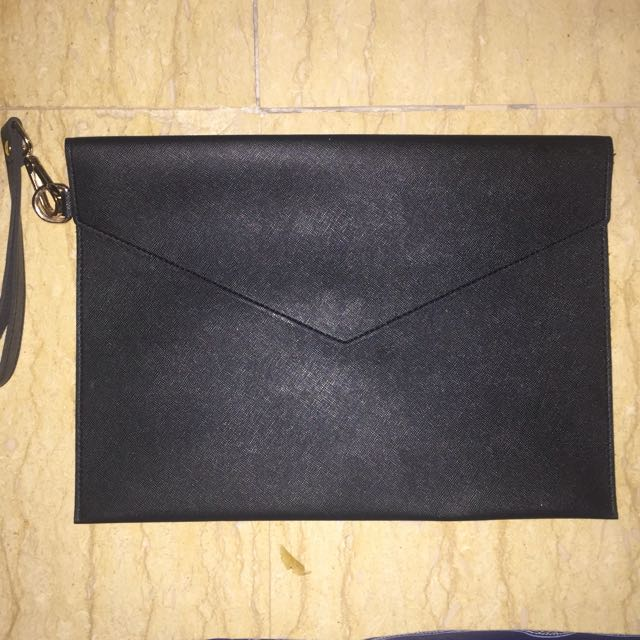 Black Unbranded Clutch