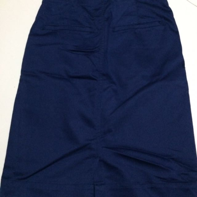 Pencil Skirt Denim-FREE SHIPPING on worth 500.00 purchase