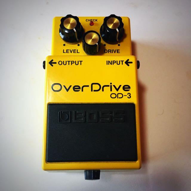 Boss Overdrive OD3 Guitar Pedal