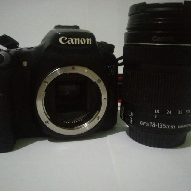 Canon 70D No Wifi Kit 18-135 Stm Is