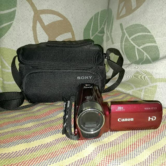 Canon Videocamera
