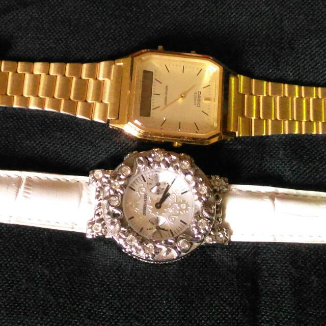 Casio ~ SOLD  DYRBERG/KERN ~ AVAILABLE