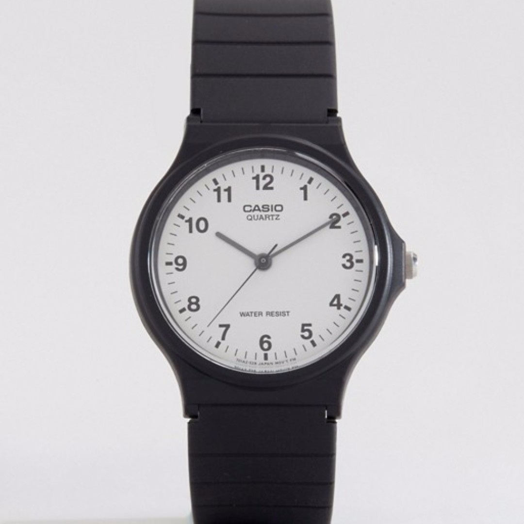 Casio Resin Strap Water Resistant Watch