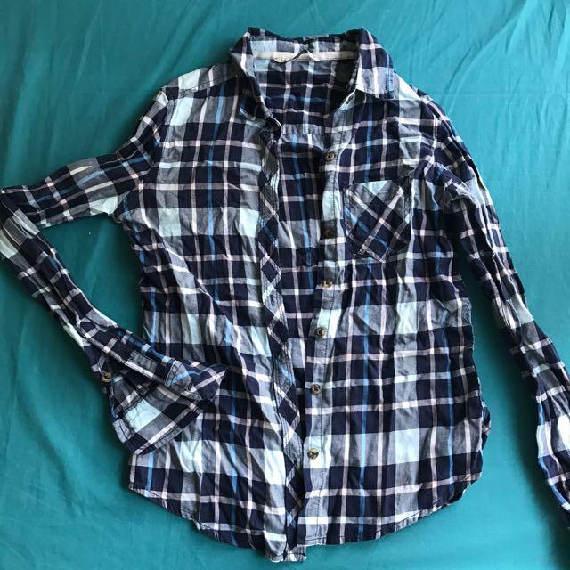 Checkered Polo Shirt