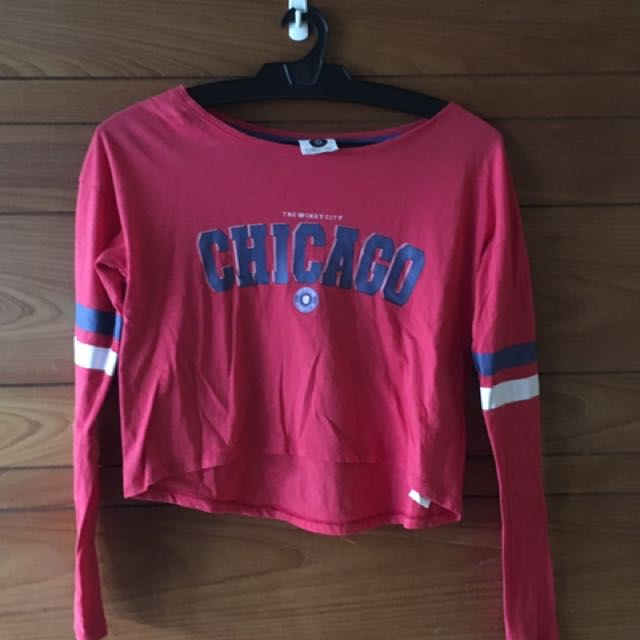 Chicago Cropped Pullover Top