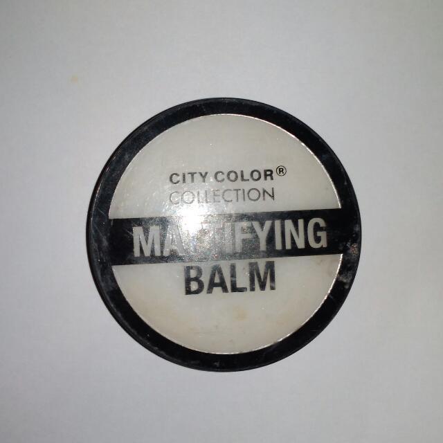 Face Primer City Color Mattifying Balm