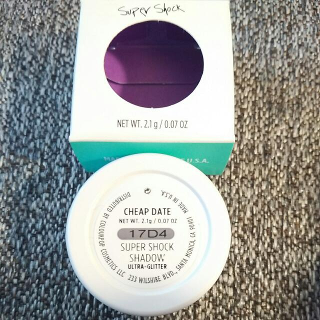 ColourPop Super Shock Shadow [Cheap Date]
