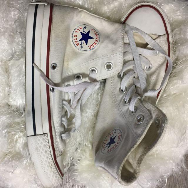 Converse High Cut White