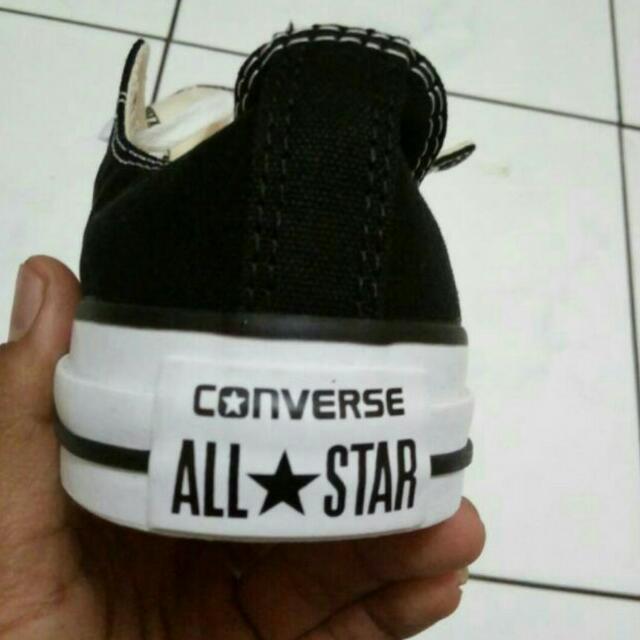 Converse Low Black Classic