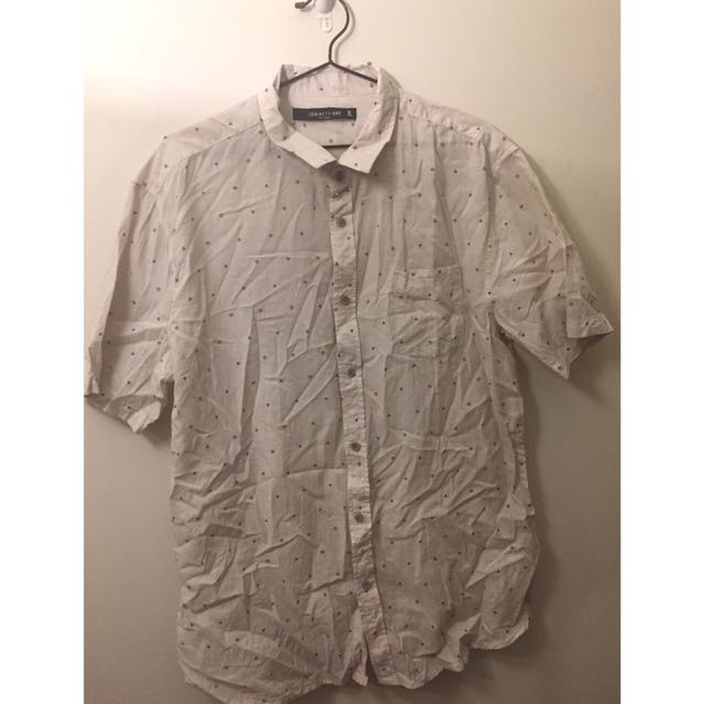 Cotton On Print Collared Shirt