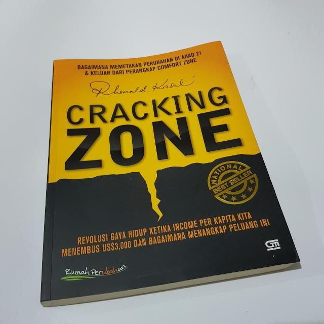 Cracking Zone - Rhenald Kasali