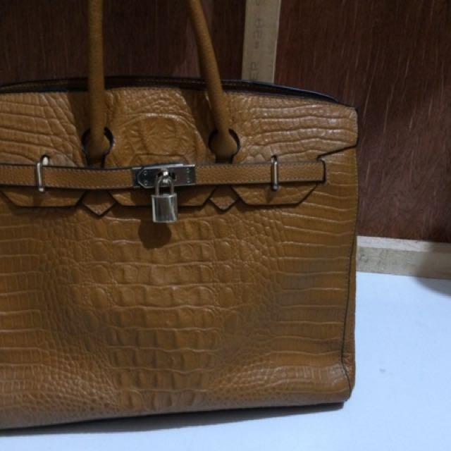 Croc Luxury Bag
