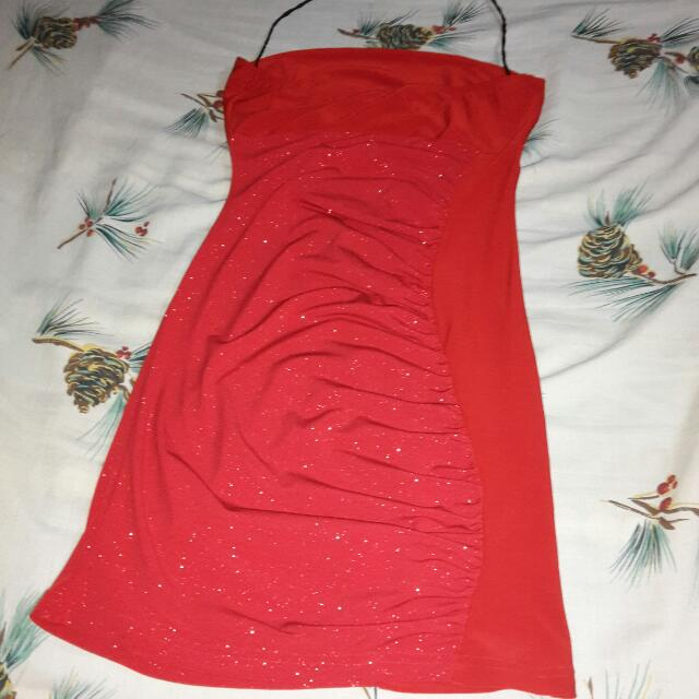 Dress ( Tube Style with supporting strap )