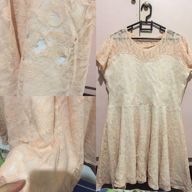 Dress Lace Bigsize