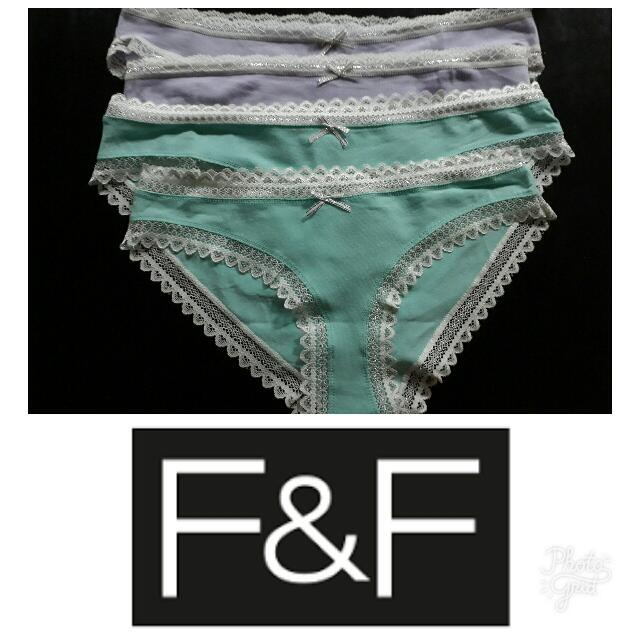 F&F Underwear Repriced!!!P65EACH ONLY