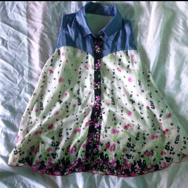 floral blouse shirt