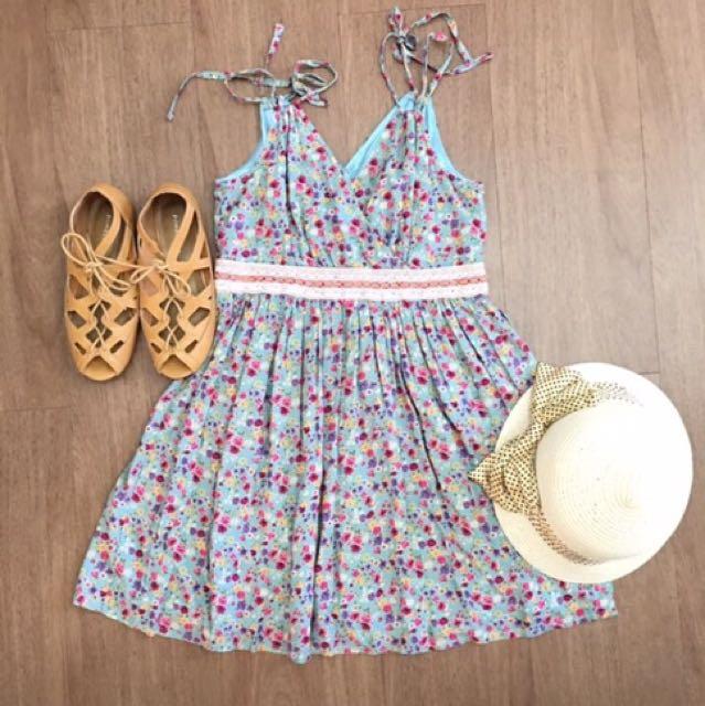 Floral Dress 🌺🌻