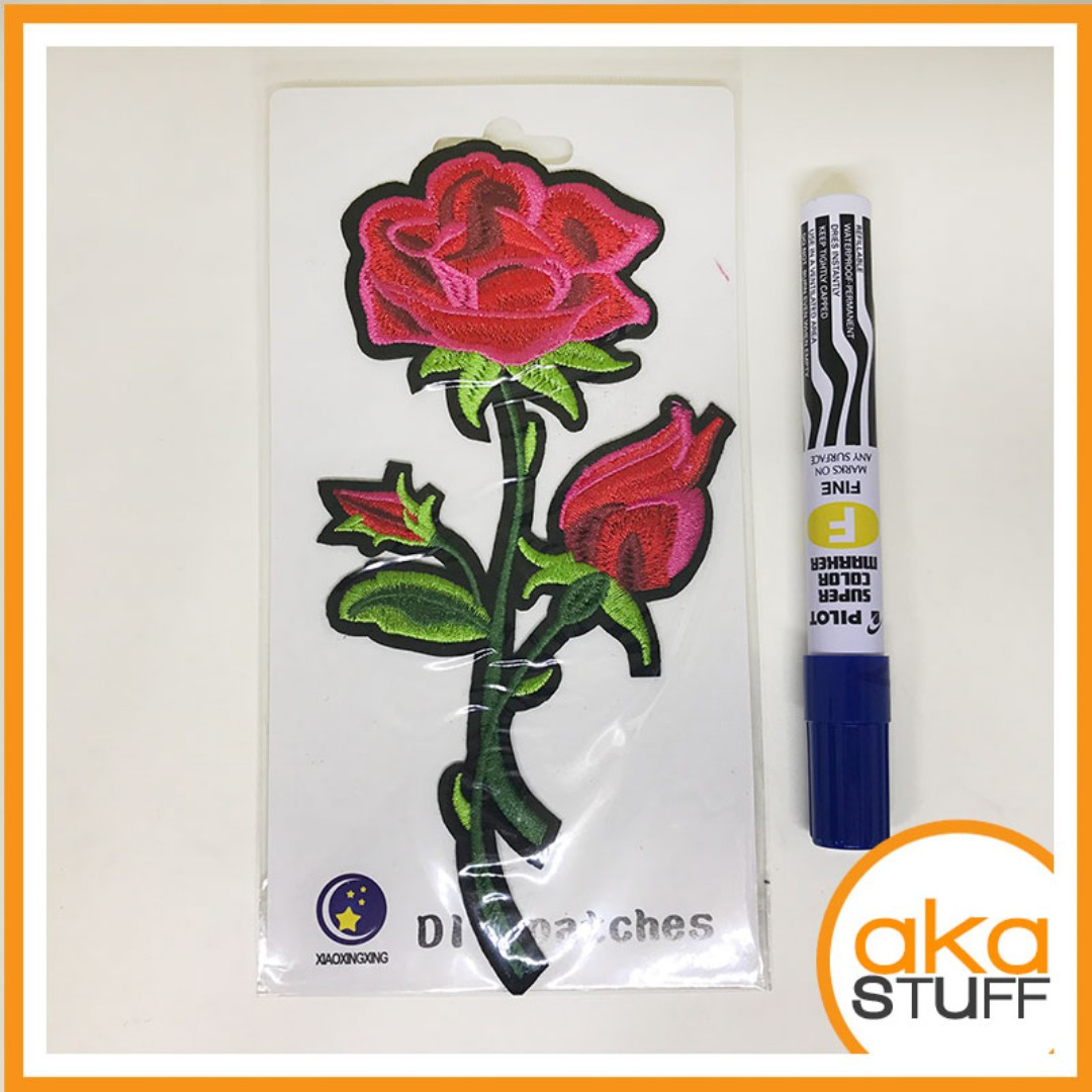 Floral Patches Rose