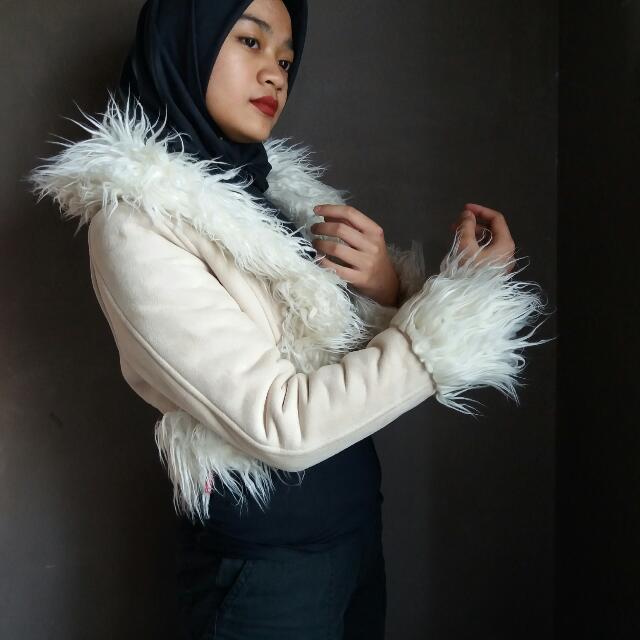 Fur Crop Jacket