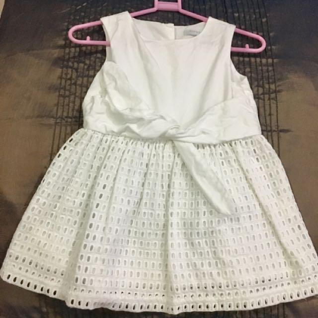 Gingersnaps White Dress/ Baptismal Dress