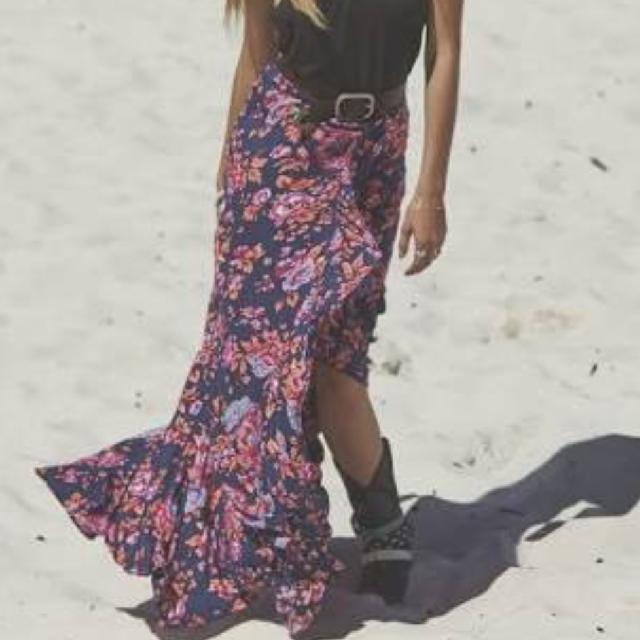 Gorgeous Auguste Magnolia Maxi Skirt