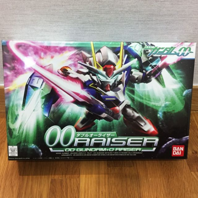 Gundam 00 Raiser 00 Gundam 0 Raiser Sd Model Kit Oo Raiser Bandai Toys Games Bricks Figurines On Carousell