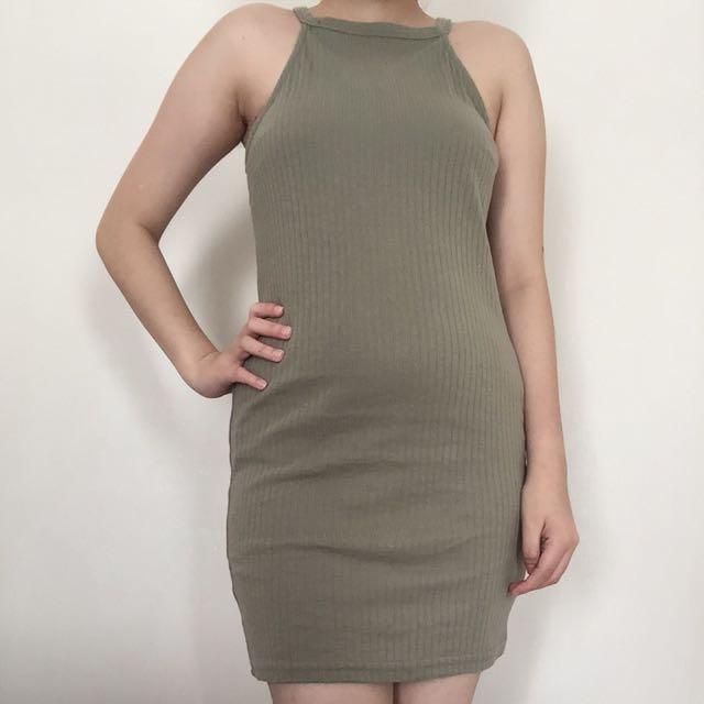 Halter Neck Dress NEWLOOK