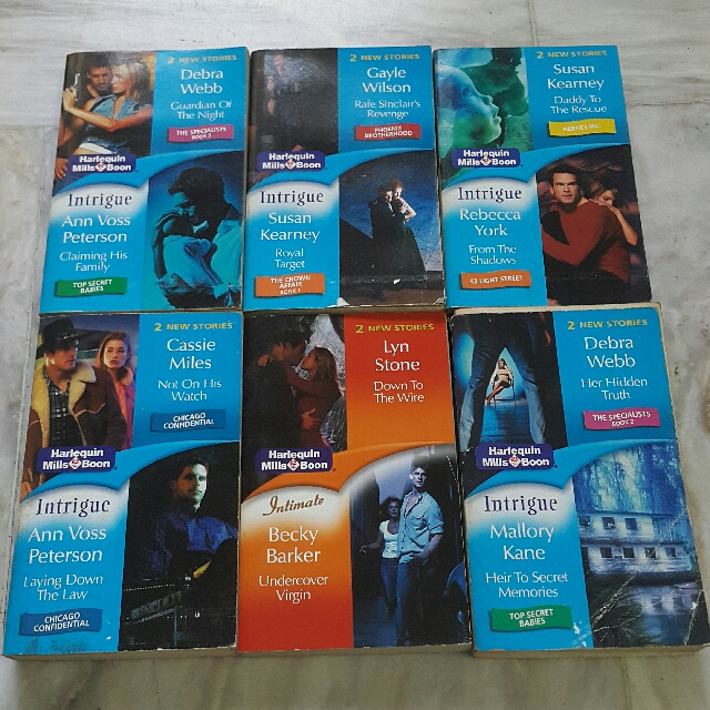 Harlequin Mills Boon Books
