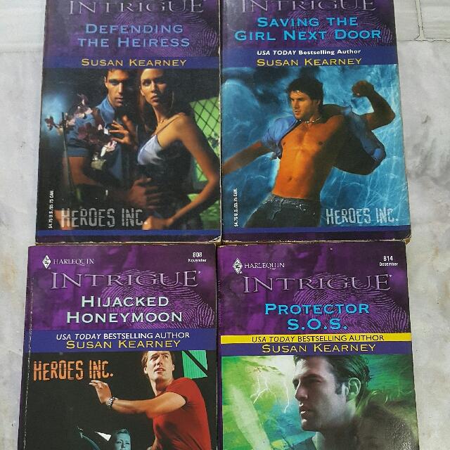 Heroes Inc Series by Susan Kearney