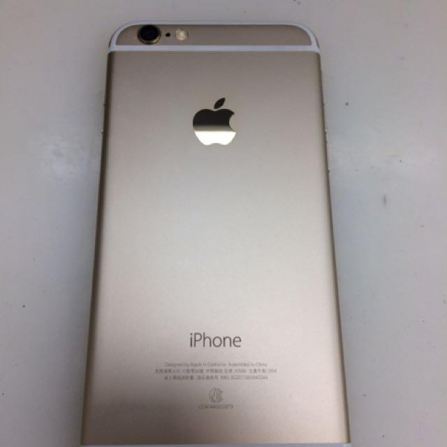 iphone 6 / 64g /金色