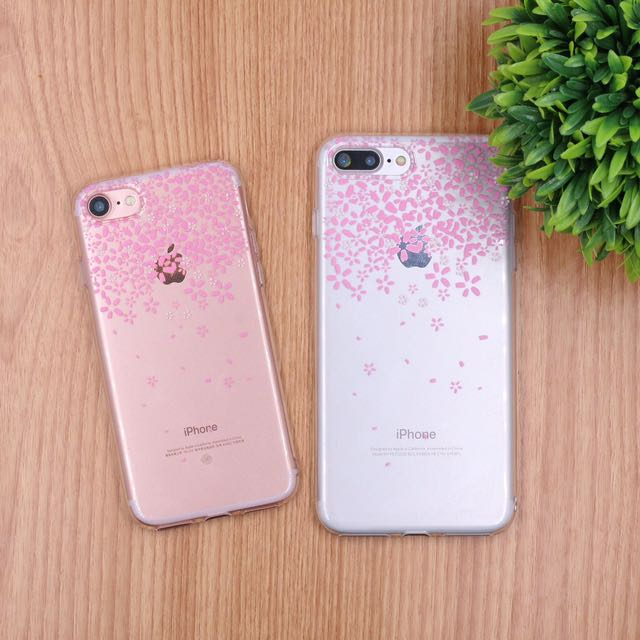 iPhone Transparent jelly case