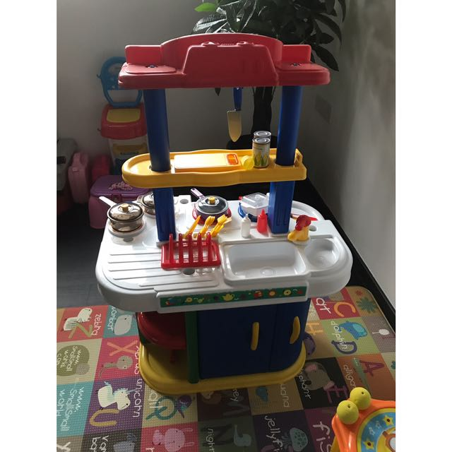 Just Like Home Kitchen Set Babies Kids Toys Walkers On Carousell