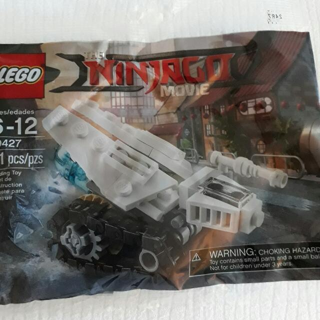 Lego Ninjago The Movie Polybag