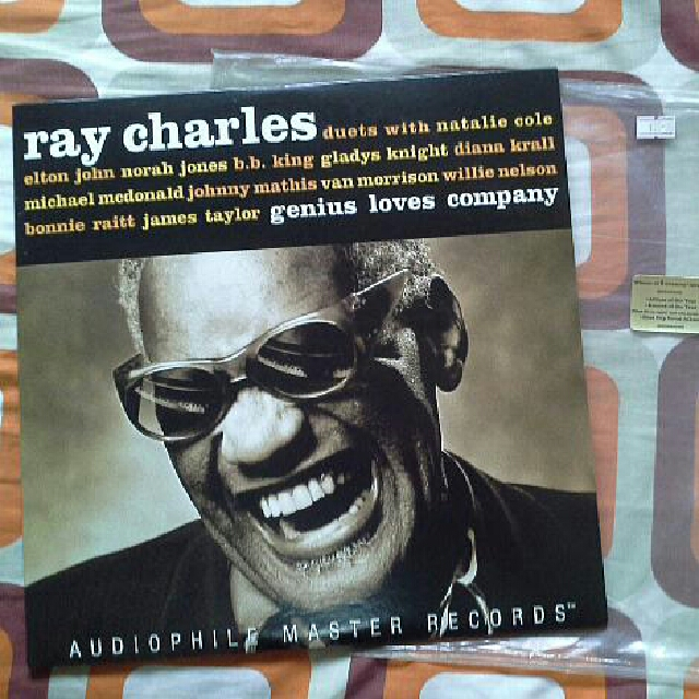 LIMITED EDITION Ray Charles Vinyl