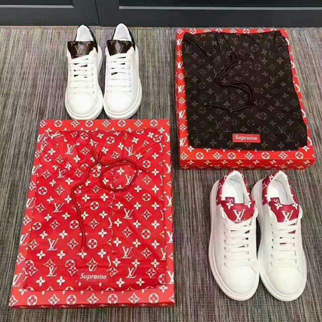 Louis Vuitton x Supreme Sneakers