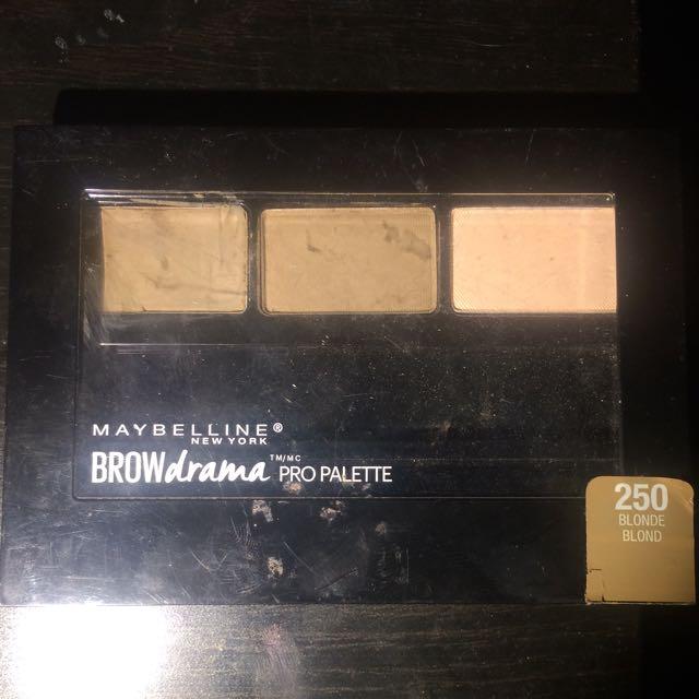 Maybelline BROWdrama pro palette
