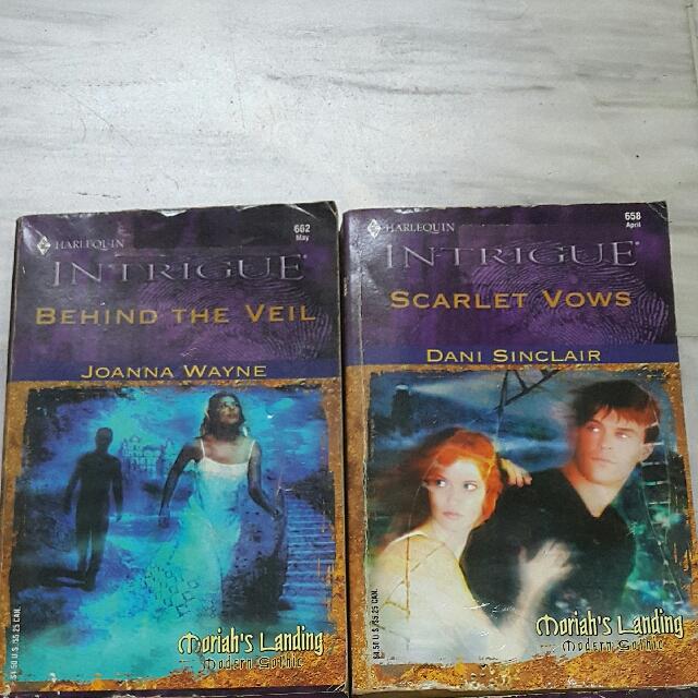 Moriah's Landing Modern Gothic Series