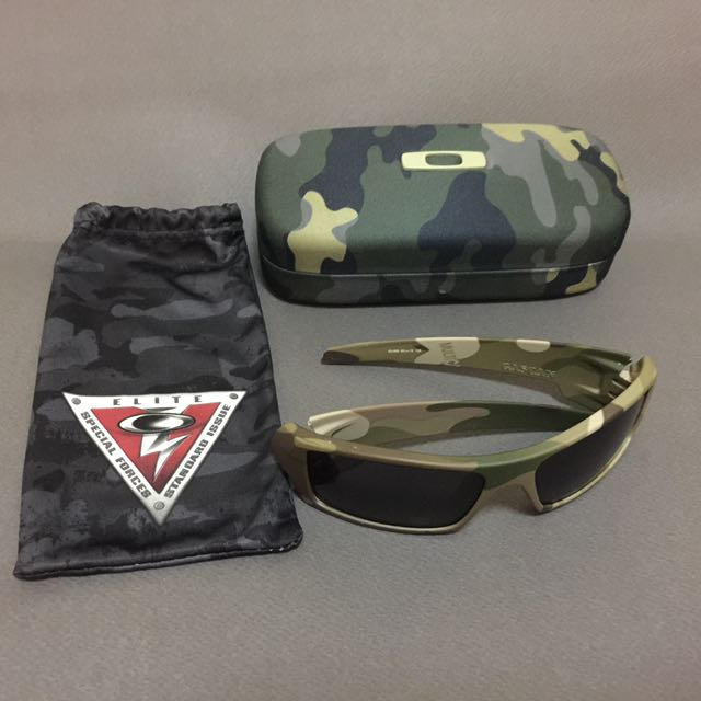 252a8fb72be Oakley Gascan Special Forces Standard Issue Camo Sunglasses