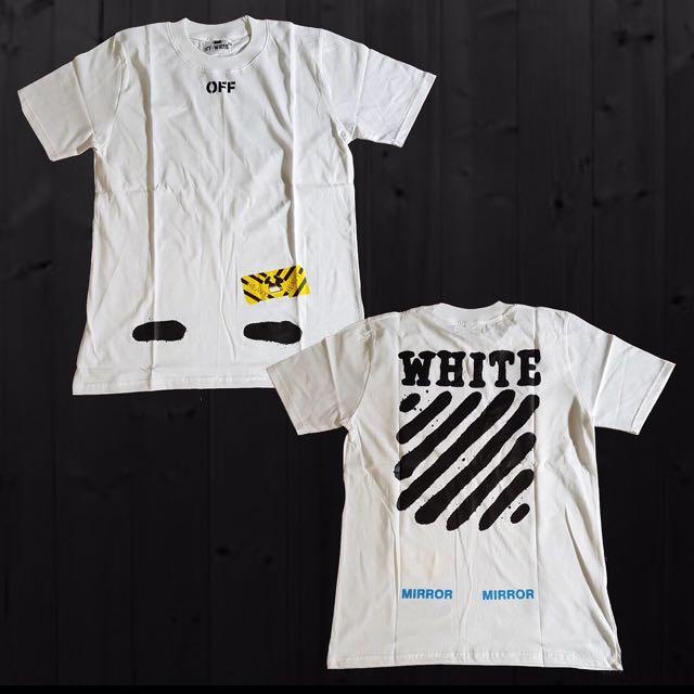 OFF WHITE DIAGONAL SPRAY T-Shirt