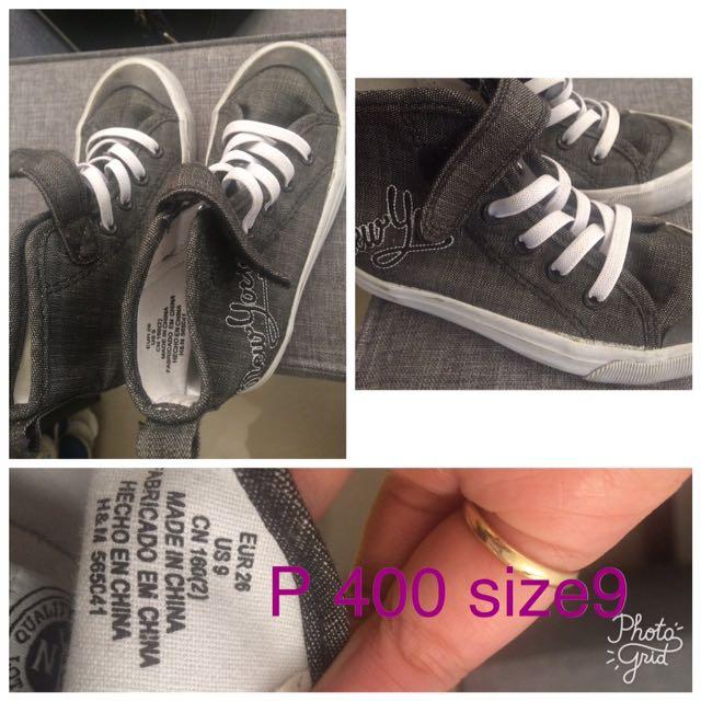 H&M High Cut Sneakers