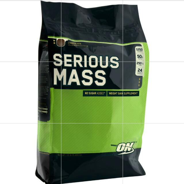ON SERIOUS MASS GAINER 12lbs