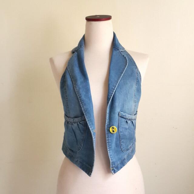 Outer Vest Jeans