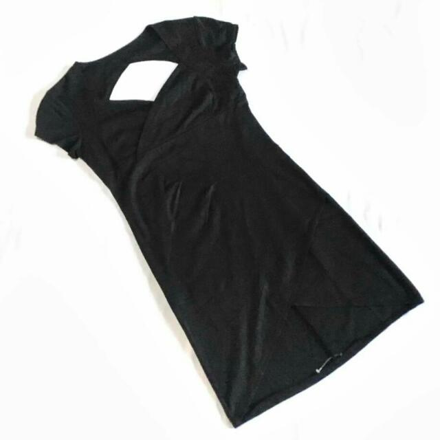 Overlap Zipped Back Dress