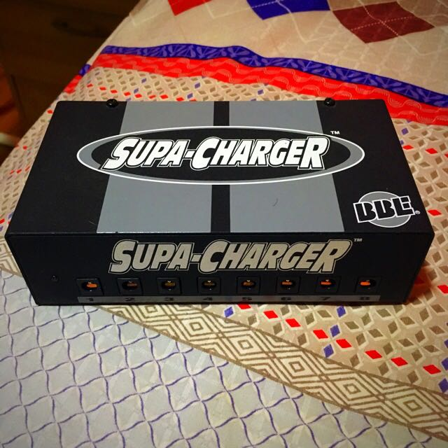 Pedal Power Supply Pedal BBE Supa Charger