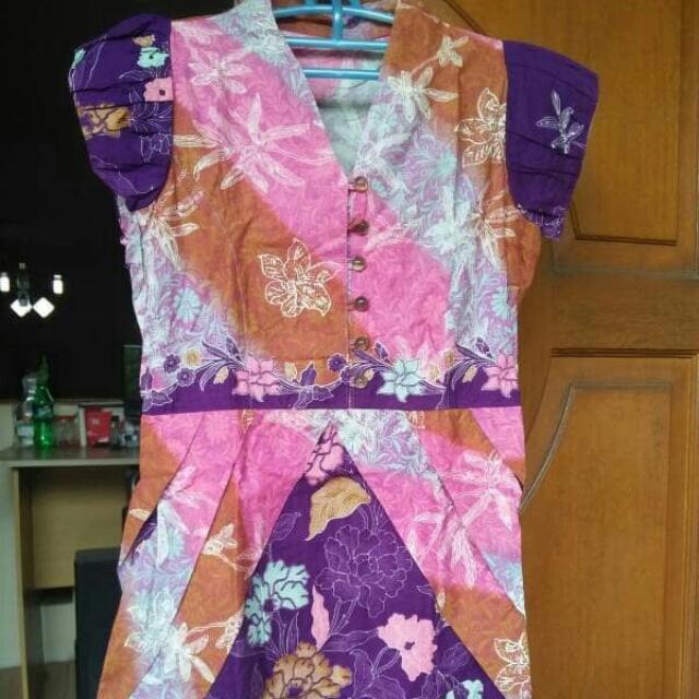 preloved dress batik