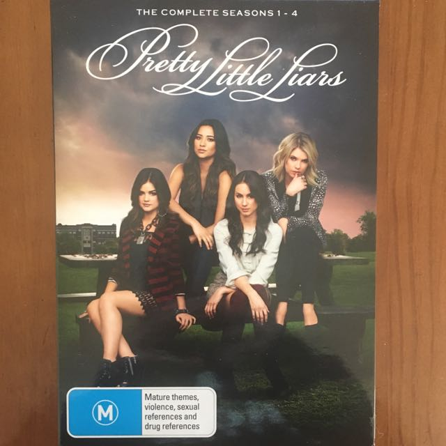 Pretty Little Liars Seasons 1-4 Box set
