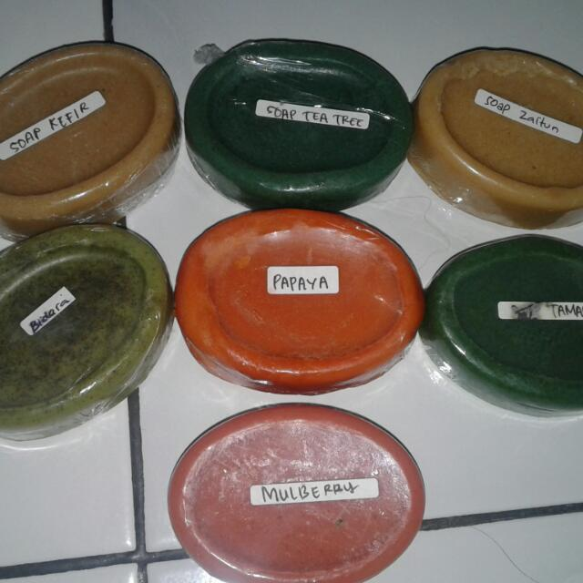 Sabun Herbal Homemade