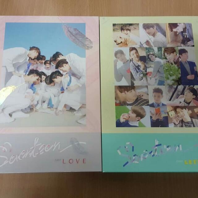 Seventeen Love N Letter Album