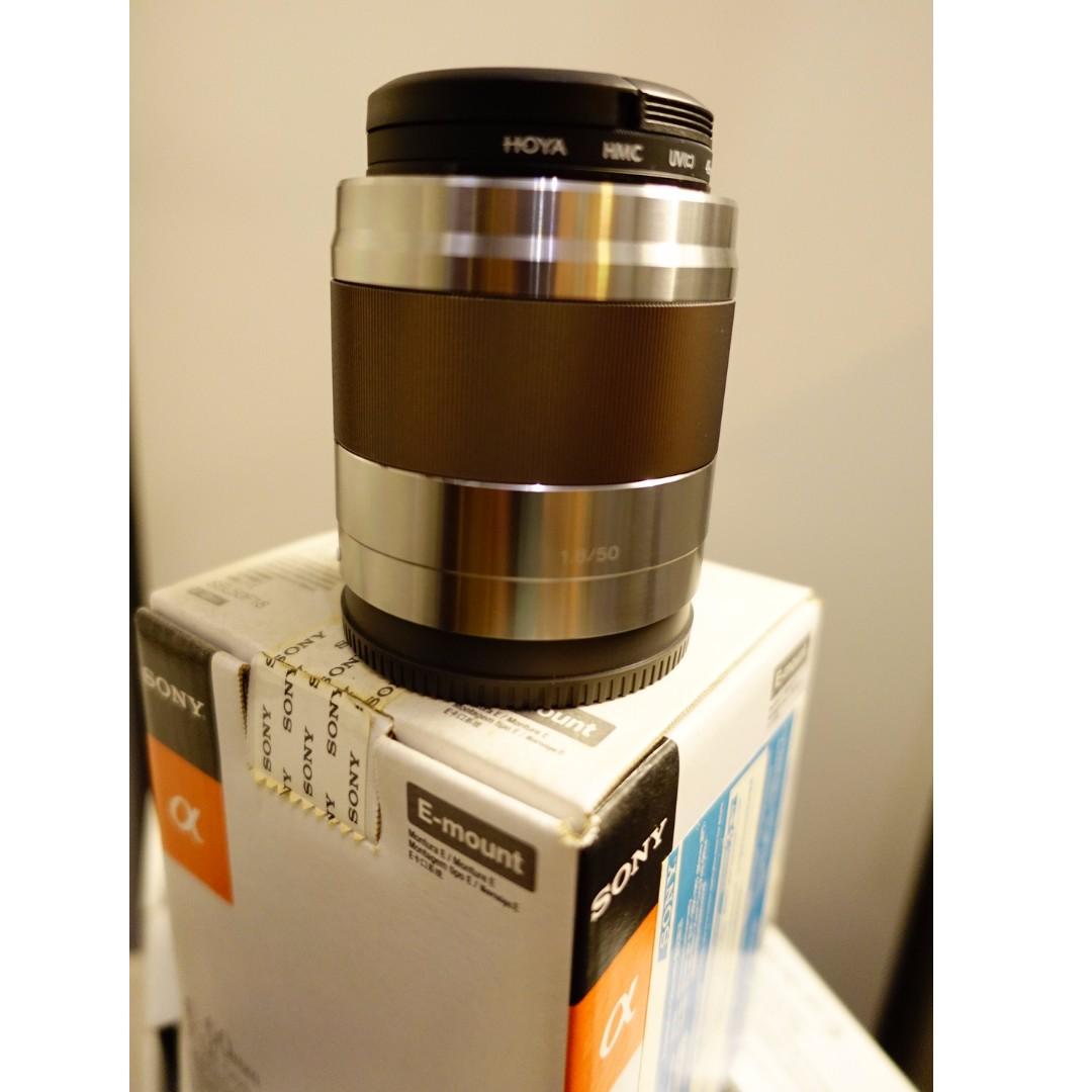 Sony E 50mm f/1.8 OSS Lens SEL50F18 for NEX / Alpha e-Mount A6000/6300
